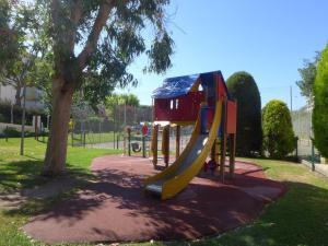 Children's play area at Apartment Heliotel Marine