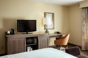 A television and/or entertainment center at Hampton Inn & Suites Las Vegas-Red Rock/Summerlin