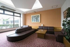 A seating area at Ise City Hotel Annex
