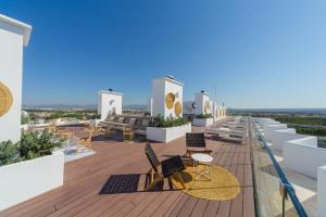 Ein Balkon oder eine Terrasse in der Unterkunft HM Gran Fiesta