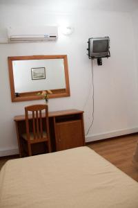 A television and/or entertainment center at Residencial Parque