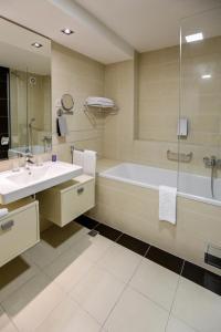 Kupatilo u objektu Hotel Stara Planina