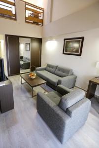 Prostor za sedenje u objektu Hotel Stara Planina