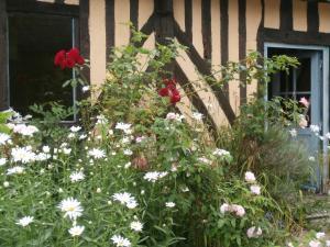 Jardin de l'établissement Aux Pommiers de Livaye