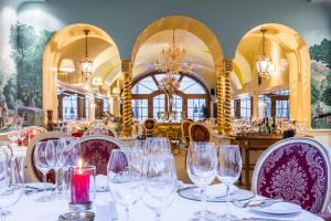 A restaurant or other place to eat at Alchymist Grand Hotel and Spa