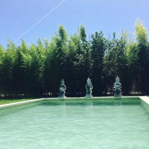 The swimming pool at or near L'Islo Bamboo