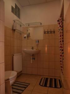 """A bathroom at Pokoje Gościnne """"Amelia"""""""