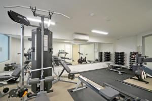 The fitness center and/or fitness facilities at The Garland at Rainbow Bay
