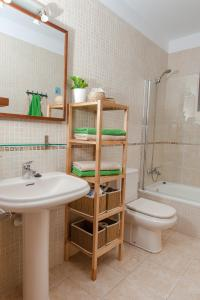 Ein Badezimmer in der Unterkunft Oasis de Nazaret