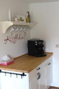Küche/Küchenzeile in der Unterkunft Kleines Bauernhaus