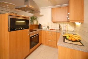 Küche/Küchenzeile in der Unterkunft Triglerschlössl Appartements