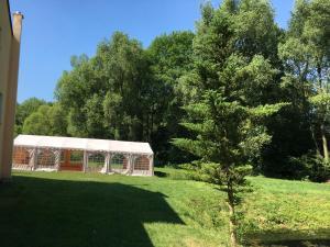 Ogród w obiekcie Czarkowice Młyn