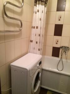 A bathroom at Apartment on Prospekt Mira 22