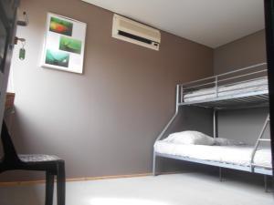 Un ou plusieurs lits superposés dans un hébergement de l'établissement Du Coté de Roussay