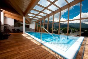 The swimming pool at or near Bohinj Eco Hotel