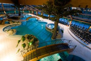 A view of the pool at Bohinj Eco Hotel or nearby
