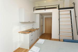 Köök või kööginurk majutusasutuses OldTown Tartu Apartments