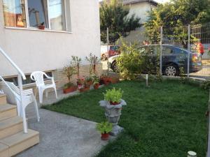 A garden outside Villa Teo
