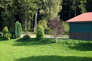 Ein Garten an der Unterkunft Ferienwohnung Waldwinkel