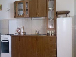 Kuchyň nebo kuchyňský kout v ubytování House Nada