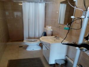 Koupelna v ubytování House Nada