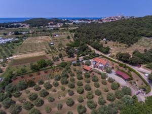 A bird's-eye view of Apartments Mirjana