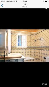 Un baño de Casa en el Palmar
