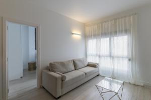 Zona de estar de Deluxe Apartment Las Canteras with Wifi