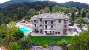 Vista aerea di Hotel Xenion tou Georgiou Merantza