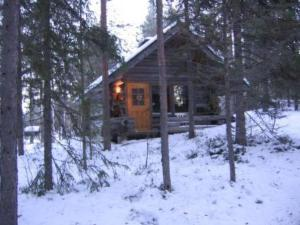 Holiday Home Tievatupa 2- pienempi during the winter