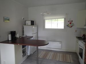 Küche/Küchenzeile in der Unterkunft Freja