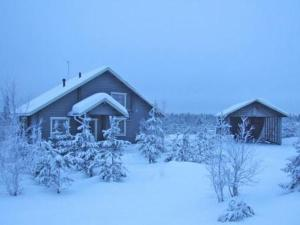 Holiday Home Mäntyrinne during the winter