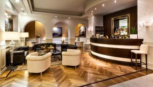 The lobby or reception area at Worldhotel Cristoforo Colombo