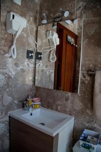 A bathroom at Casa Rural Collarubio