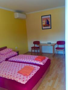 A bed or beds in a room at Andrea Pansio