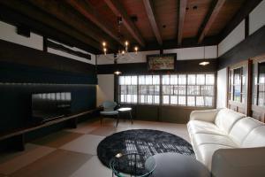 函館クラシックホテルズにあるシーティングエリア