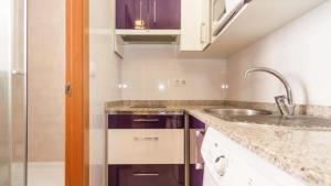 Una cocina o zona de cocina en Monteleón Apartment