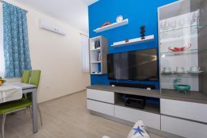 TV a/nebo společenská místnost v ubytování Apartman Api