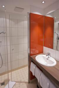 Ein Badezimmer in der Unterkunft iQ-Hotel Ulm