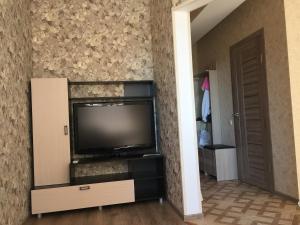 Телевизор и/или развлекательный центр в Apartment in Sochi near the sea