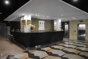 Лобби или стойка регистрации в Я-Отель