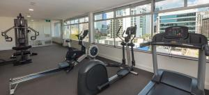 The fitness center and/or fitness facilities at Ridge Apartment Hotel