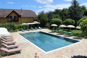 The swimming pool at or near Vitalhotel Marienhof