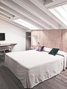 Кровать или кровати в номере Hotel Ayllon