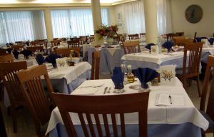 Restaurace v ubytování Pensione Villa Joli