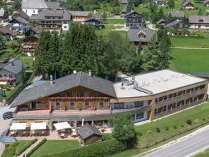 Blick auf Der Seebacherhof aus der Vogelperspektive