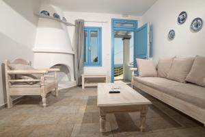 Χώρος καθιστικού στο Almyra Guesthouse