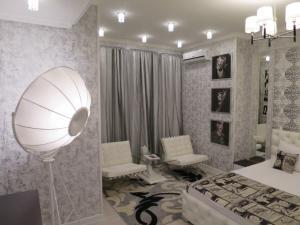 A bathroom at Hotel Tema
