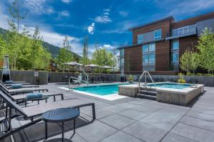 The swimming pool at or near SpringHill Suites by Marriott Jackson Hole