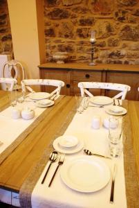 Εστιατόριο ή άλλο μέρος για φαγητό στο Argyriou Wine Tasting Guest House
